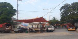 En el Istmo, instalan mercado sobre ruedas