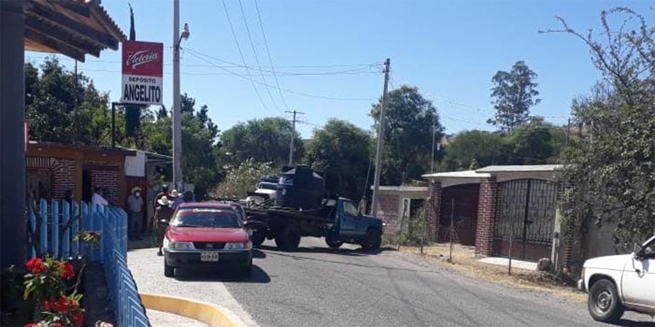 Comunidades se unen en inconformidad por bloqueo en Tezoatlán   El Imparcial de Oaxaca