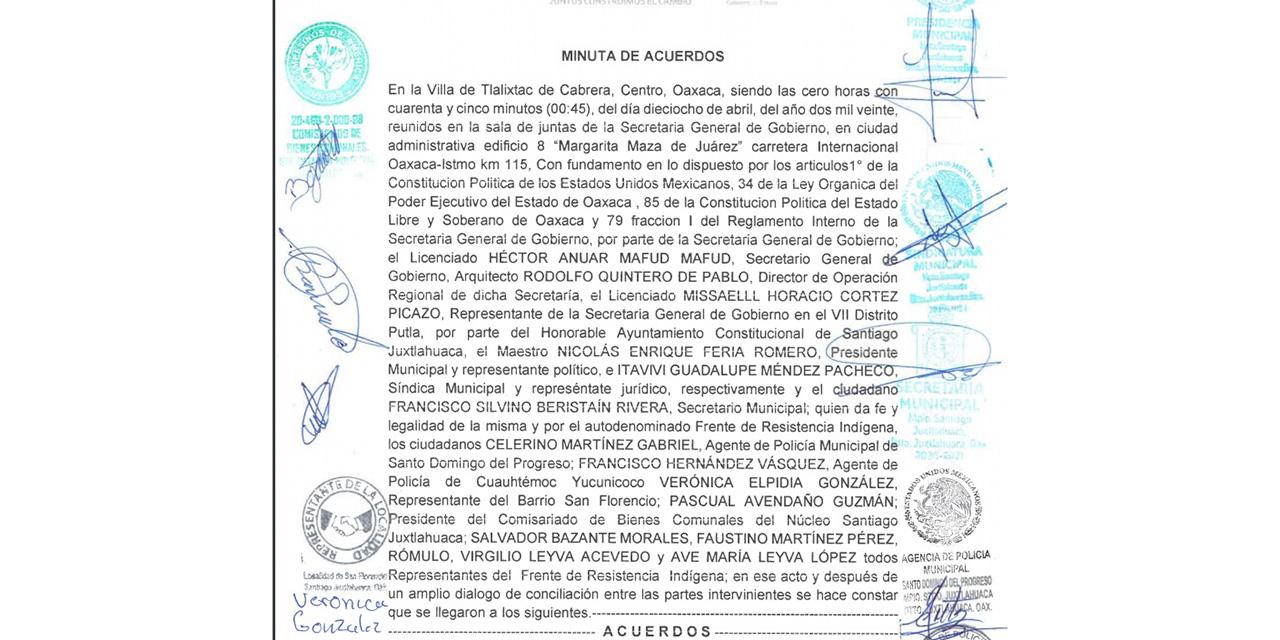 Liberan municipio de Santiago Juxtlahuaca