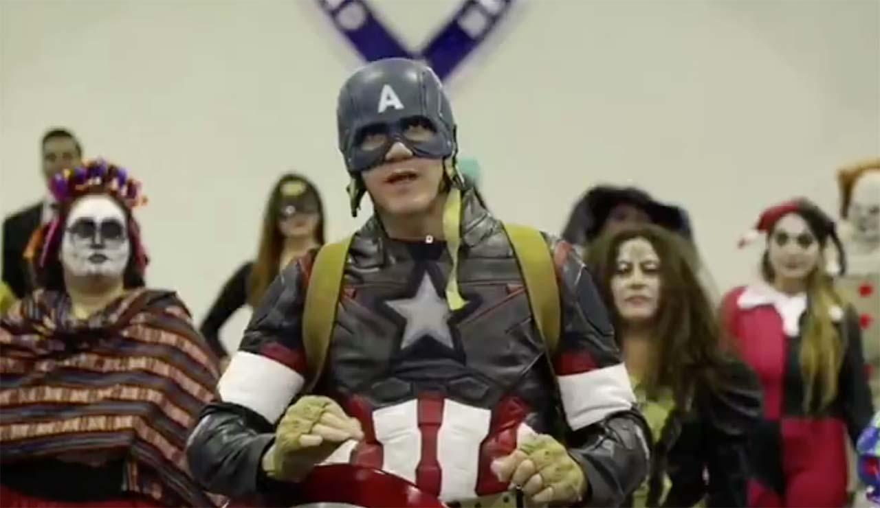 Alcalde de Cuajimalpa se disfraza del Capitán América para pedir a niños que se queden en casa   El Imparcial de Oaxaca