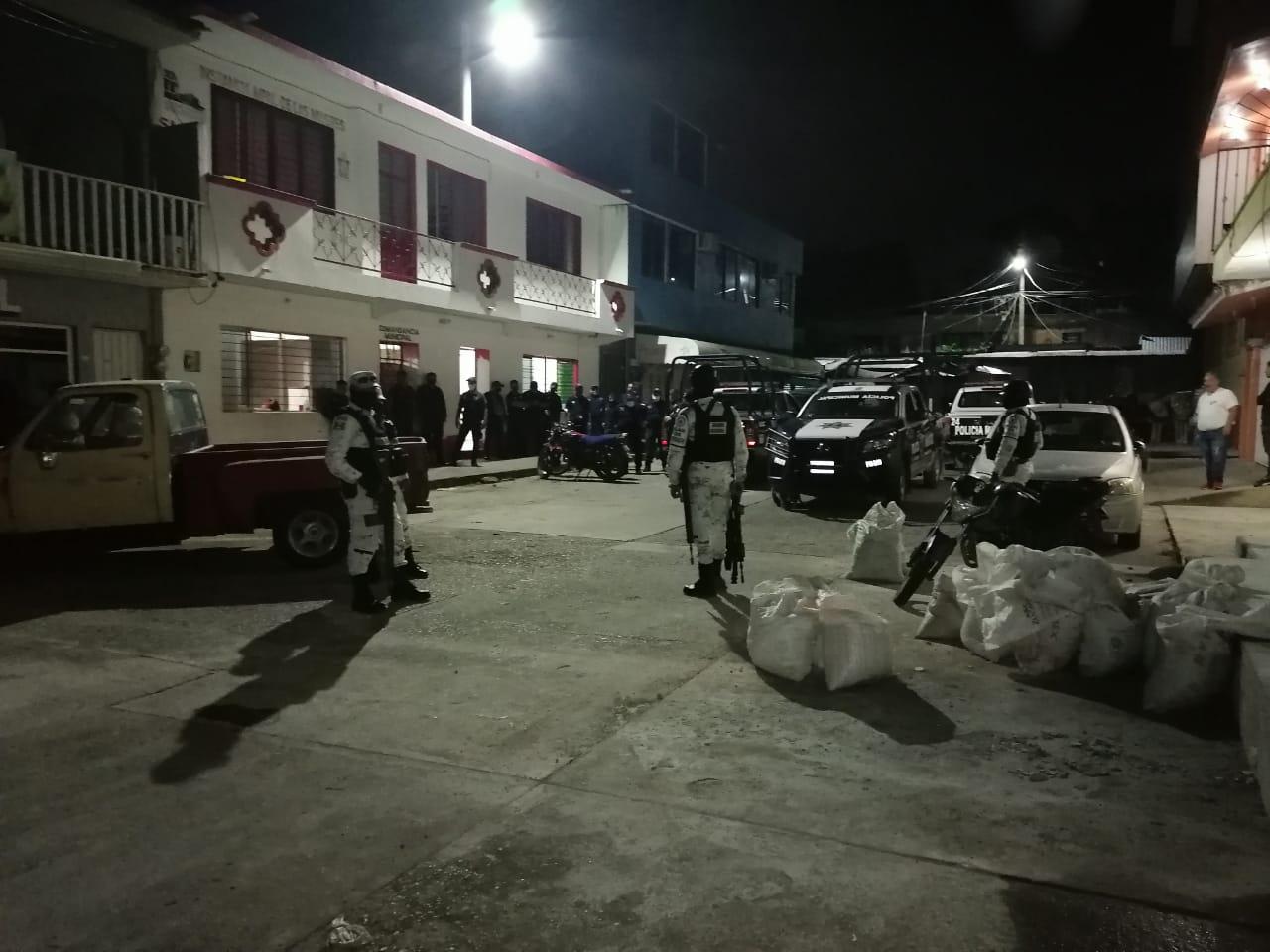Elementos de la Guardia Nacional agreden a policías de Matías Romero, Oaxaca | El Imparcial de Oaxaca