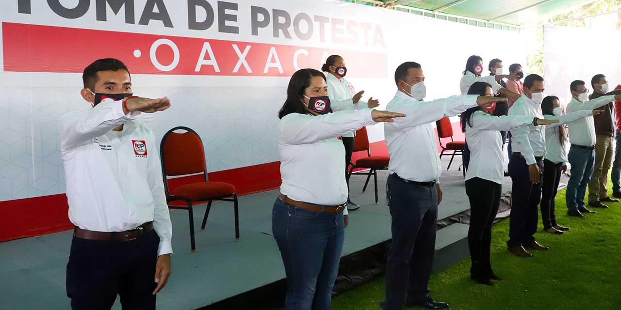 Instalemos una nueva historia en Oaxaca: RSP