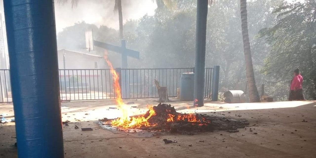 Barbarie en agencias de San Juan Mazatlán