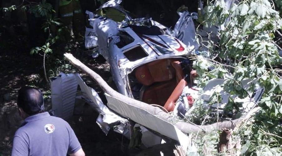 ¡De película! Se desploma avioneta en Puerto Escondido | El Imparcial de Oaxaca