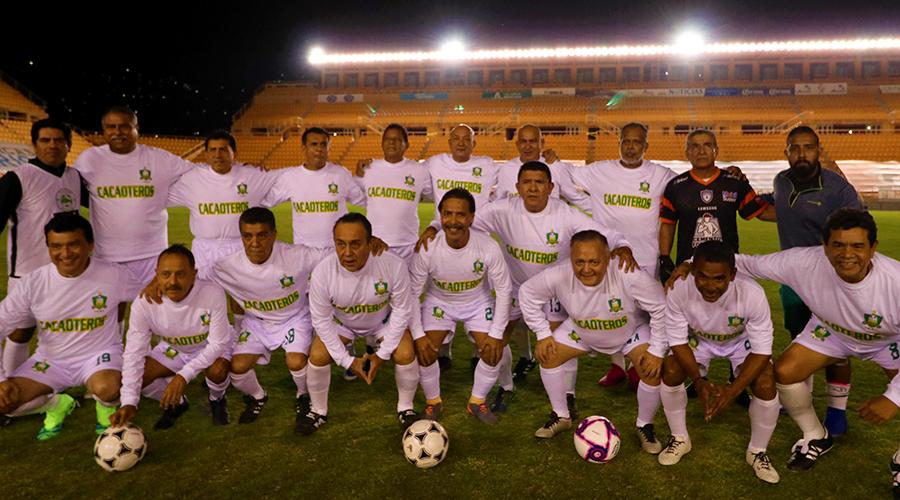 Conviven ex profesionales de los Cacaoteros de Tabasco, de Segunda División