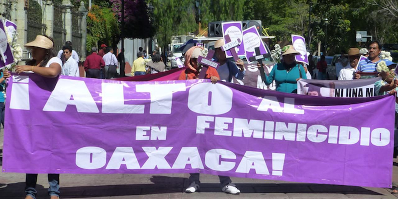 Piden justicia por violación de niña y feminicidio de joven en Oaxaca