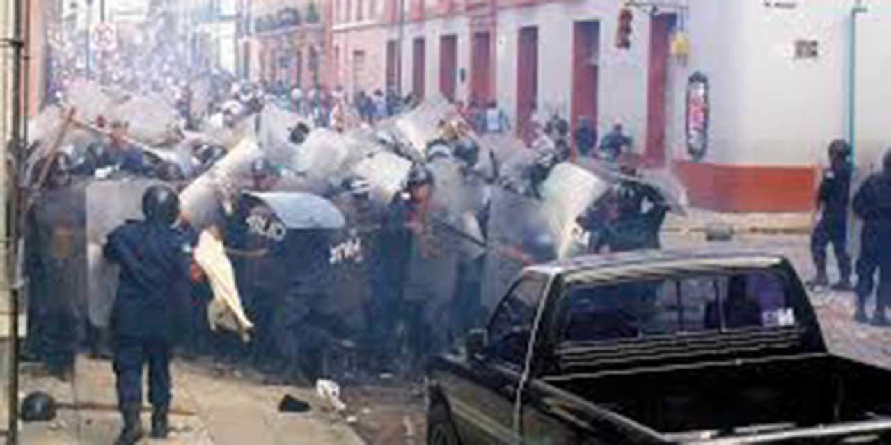 Piden justicia por desalojo de 2006 en Oaxaca | El Imparcial de Oaxaca