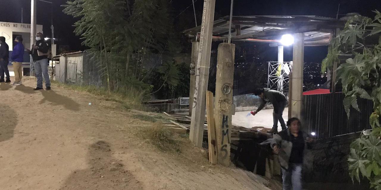 Cholos asesinan a un ingeniero en San Martín Mexicápam