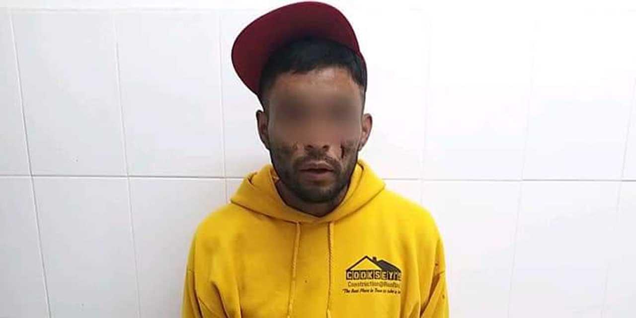 Detienen a presunto ladrón en la Central de Abasto