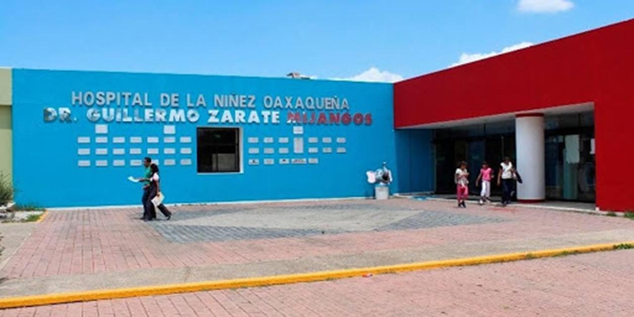 Hospital de la Niñez Oaxaqueña al 51% de abasto | El Imparcial de Oaxaca