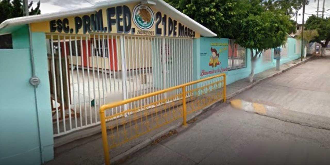 Detienen por robo a un sujeto dentro de una escuela en Huajuapan | El Imparcial de Oaxaca