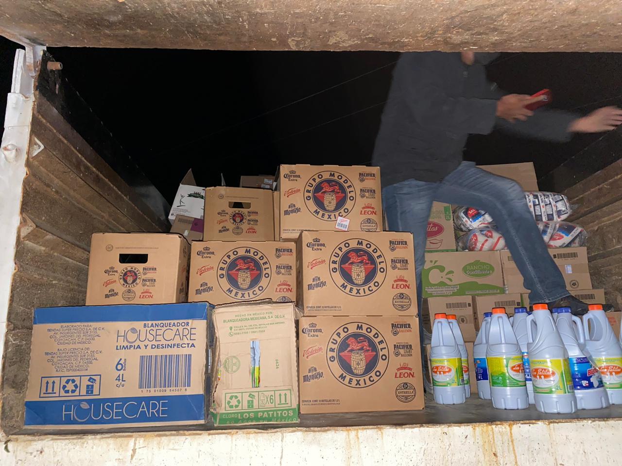 Aseguran mercancía, camión, drogas y dinero en efectivo en Ejutla de Crespo | El Imparcial de Oaxaca