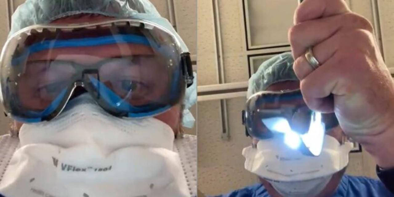 Video: Médico recrea los últimos momentos que vive un paciente con Covid-19   El Imparcial de Oaxaca