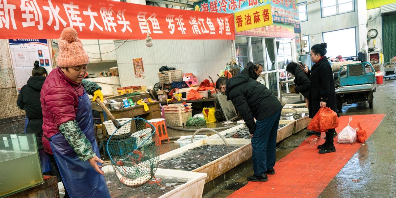 Mercado de Wuhan continua operando sin medidas sanitarias | El Imparcial de Oaxaca