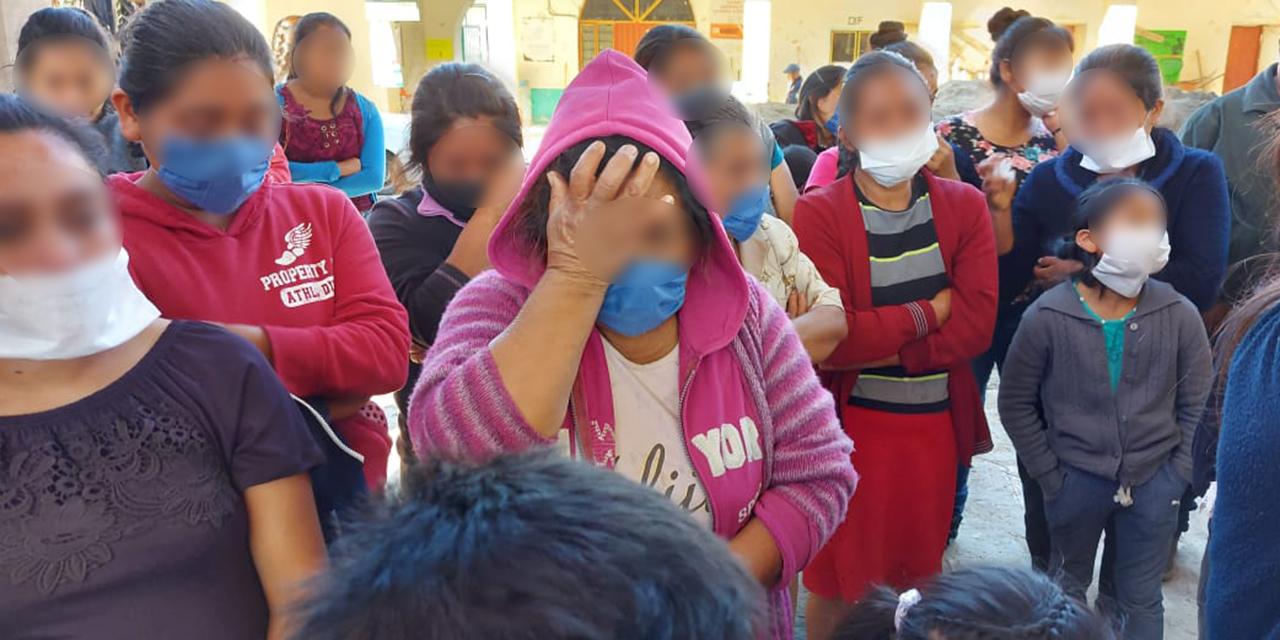 Familias sobreviven a noche de terror en la Sierra Sur   El Imparcial de Oaxaca