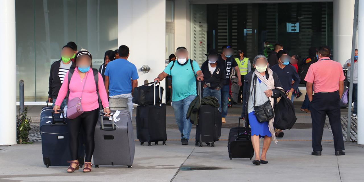 Turistas, 6 de cada 10 pasajeros de Aeropuerto | El Imparcial de Oaxaca
