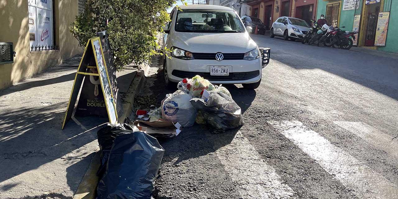 Suspenden recolección de basura en la capital | El Imparcial de Oaxaca