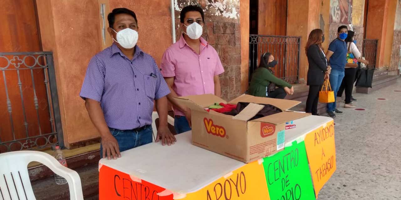 Mixtecos instalan centros de acopio por damnificados de Tabasco | El Imparcial de Oaxaca