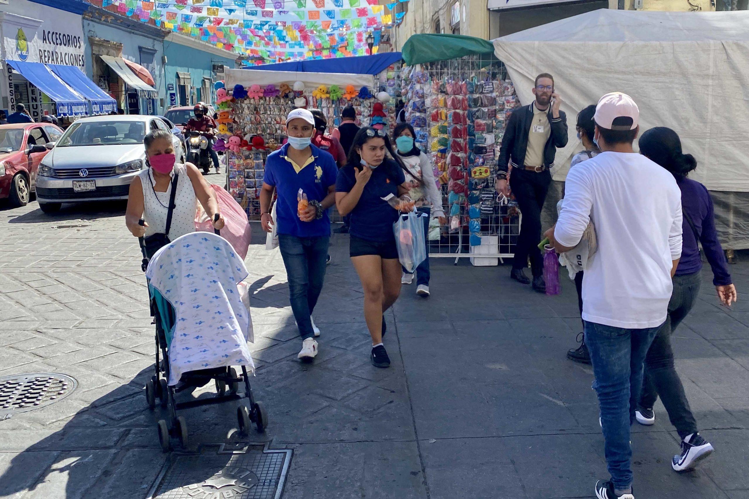 Realizan compras sin medidas sanitarias   El Imparcial de Oaxaca