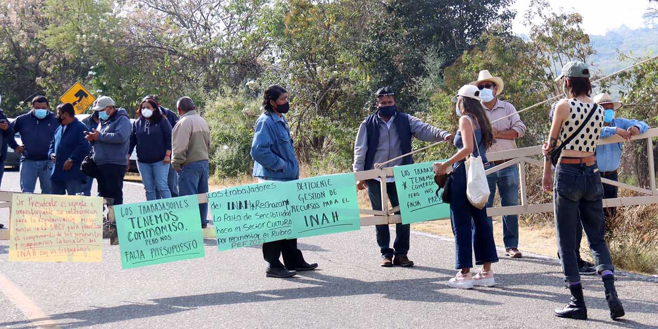 Zonas arqueológicas de Oaxaca en riesgo por recortes de presupuesto | El Imparcial de Oaxaca