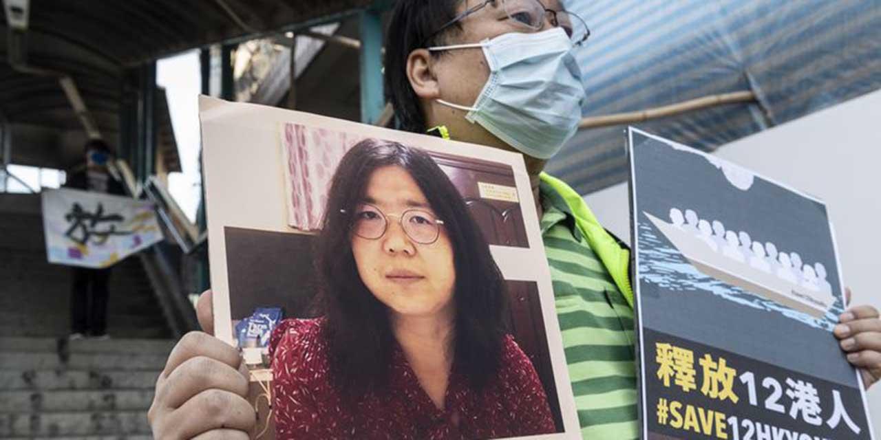 Periodista china recibe cuatro años de prisión por reportar Covid-19 | El Imparcial de Oaxaca