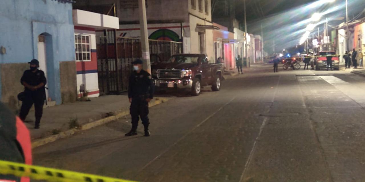 Indagan sobre el doble asesinato en Ocotlán de Morelos