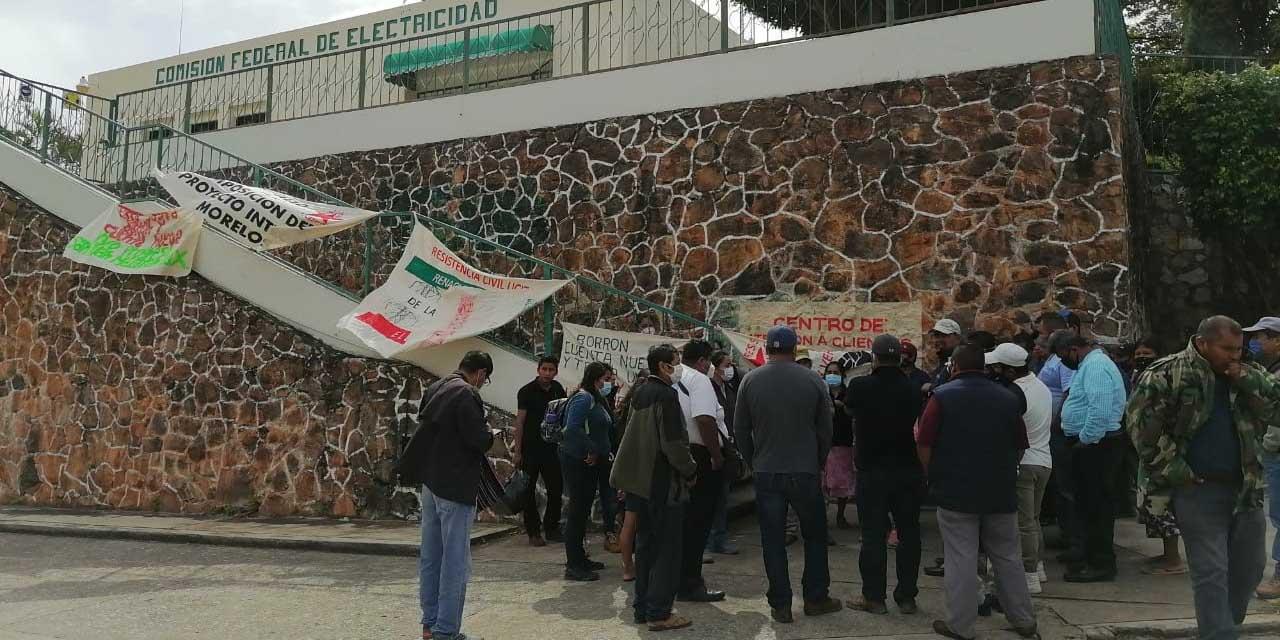 Ucizoni toma instalaciones de CFE en Matías Romero   El Imparcial de Oaxaca