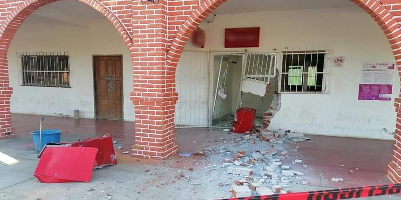 Roban cajero automático en San Francisco del Mar | El Imparcial de Oaxaca