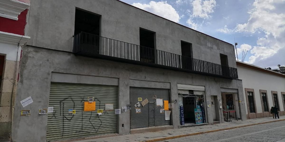 Pese a clausura, mantienen obra en inmueble del Centro Histórico | El Imparcial de Oaxaca