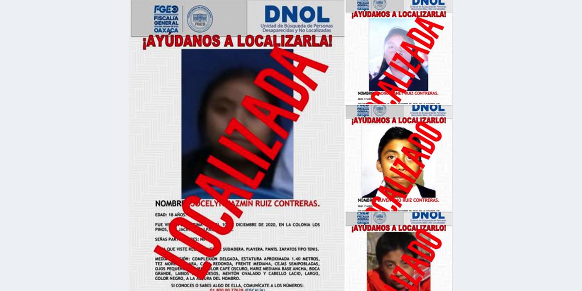 Localizan a menores y adolescentes desaparecidos en San Jacinto Amilpas | El Imparcial de Oaxaca