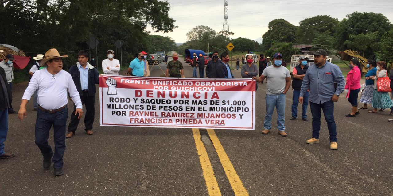 Guichicovi denuncia marginación y olvido   El Imparcial de Oaxaca