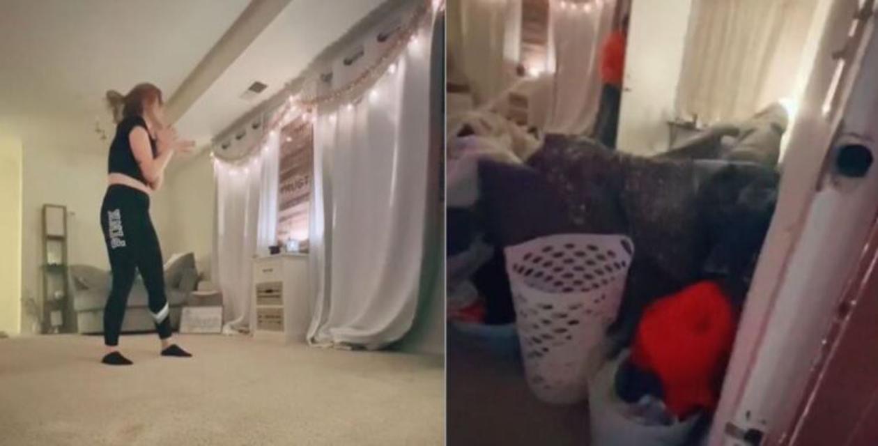 Joven encuentra a acosador en su casa; la veía bailar — Vídeo