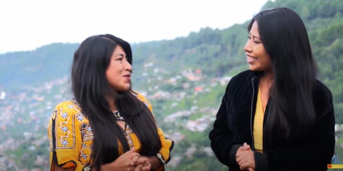 Un día en Tlahuitoltepec, Yalitza y María Reyna recorren la Sierra Mixe de Oaxaca   El Imparcial de Oaxaca