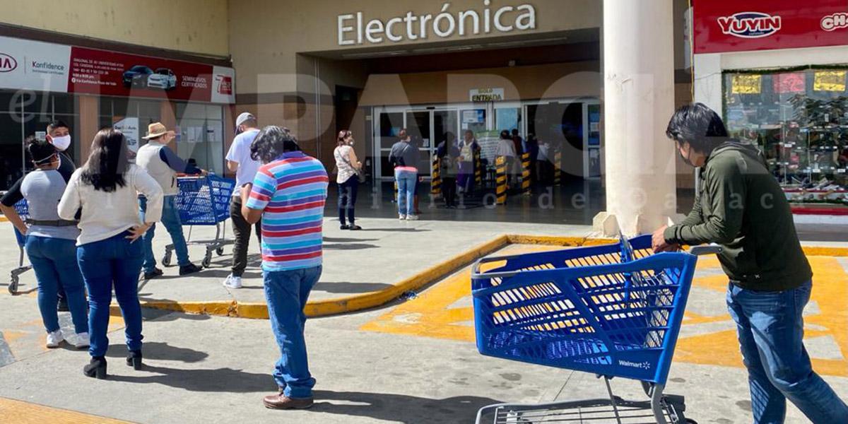 Regreso a semáforo naranja lleva a compras de pánico en Oaxaca | El Imparcial de Oaxaca