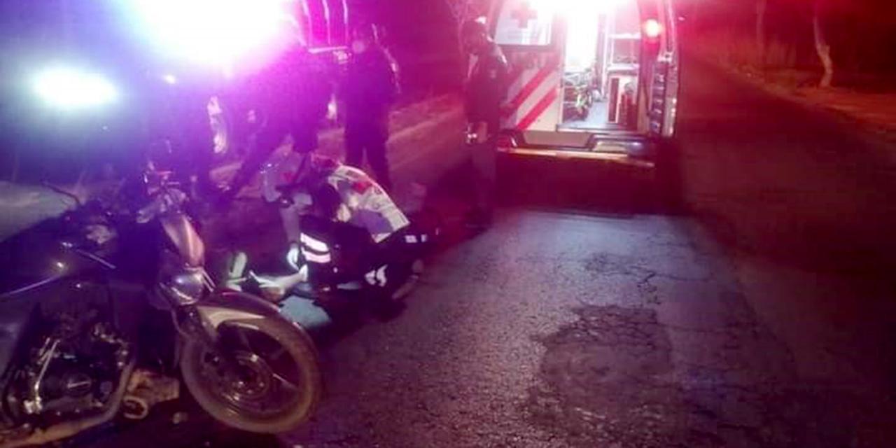 Ebrio se accidenta en moto   El Imparcial de Oaxaca