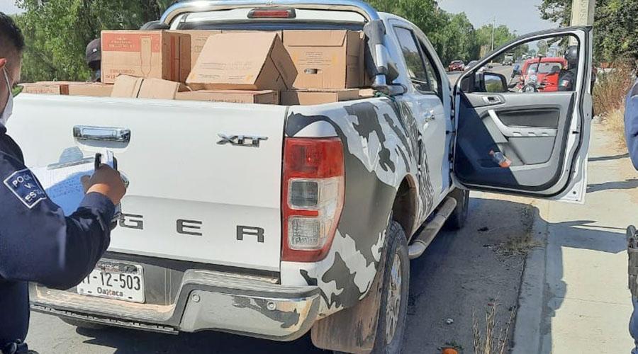 Atracan y recuperan una camioneta con abarrotes   El Imparcial de Oaxaca