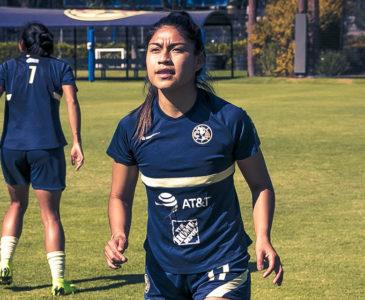 Eleisa ya entrena al parejo con el Club América