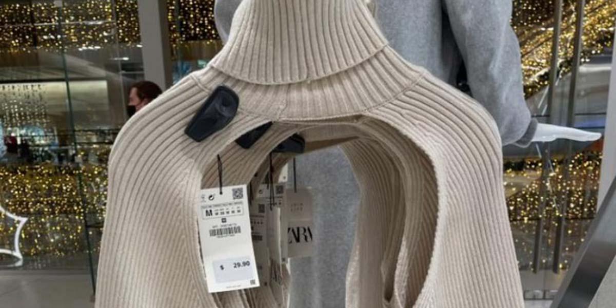Zara lanza suéter con las puras mangas | El Imparcial de Oaxaca