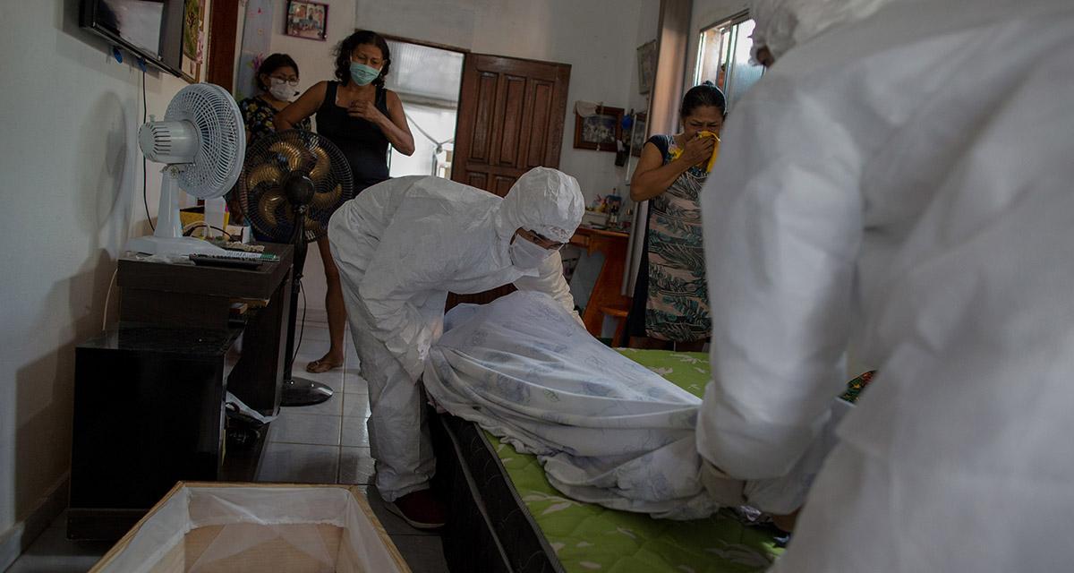 Video: Pacientes con Covid-19 están muriendo en sus casa ante la falta de espacio en hospitales | El Imparcial de Oaxaca