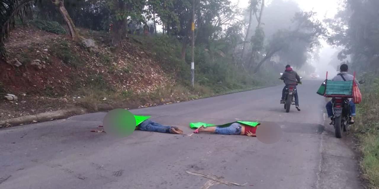 Asesinan a una pareja en Soyaltepec   El Imparcial de Oaxaca