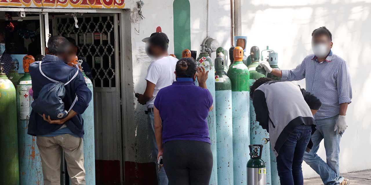 Desesperada búsqueda por oxígeno; aumenta demanda en Oaxaca | El Imparcial de Oaxaca