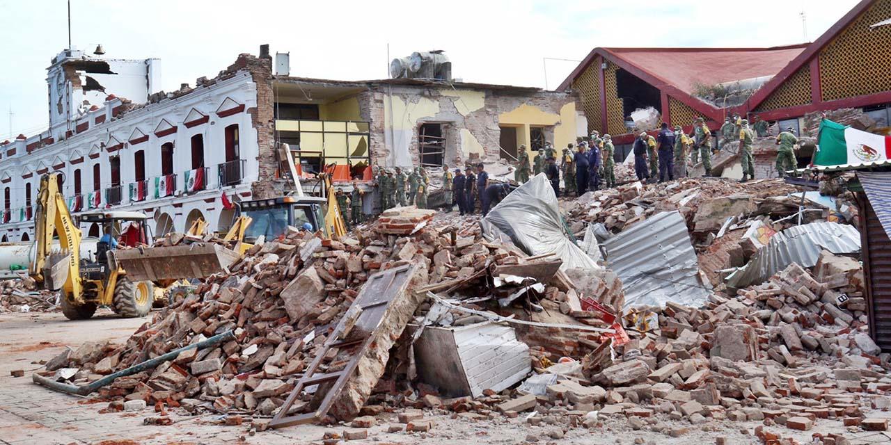 Reiniciarán la reconstrucción del Palacio Municipal de Juchitán | El Imparcial de Oaxaca