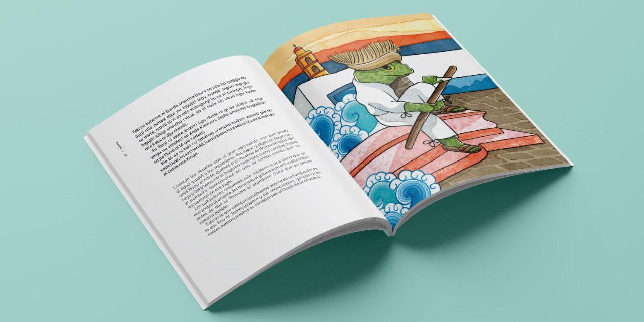 Presentan libro infantil de cuentos para rescate del Nguiva en La Mixteca   El Imparcial de Oaxaca