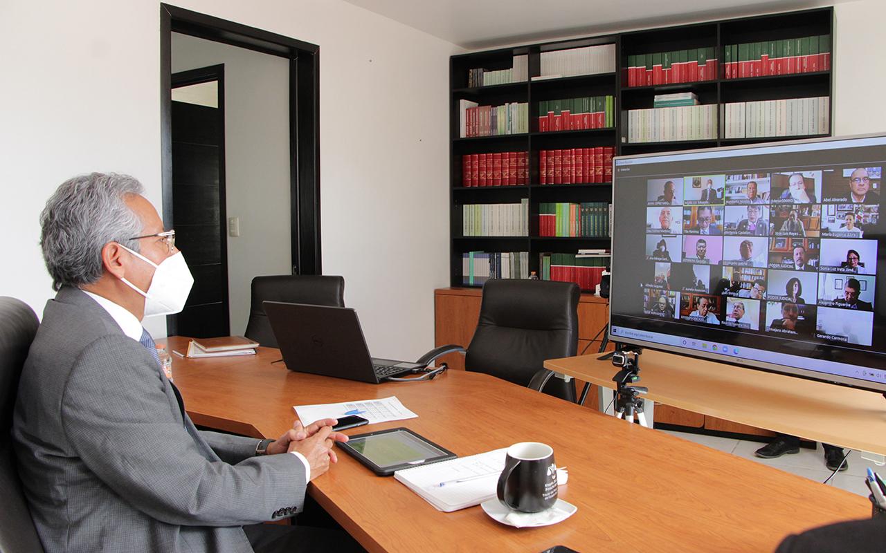 Da inicio primer periodo ordinario de sesiones en el Poder Judicial | El Imparcial de Oaxaca