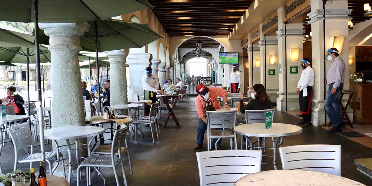 Restaurantes de Oaxaca volverían a bajar sus cortinas | El Imparcial de Oaxaca