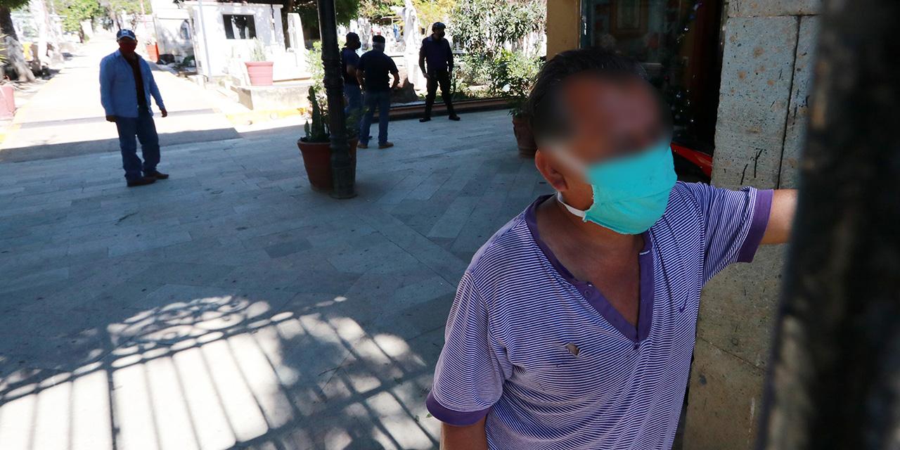 Contagios al alza, hospitales al tope y un sepelio con poca gente en Oaxaca | El Imparcial de Oaxaca