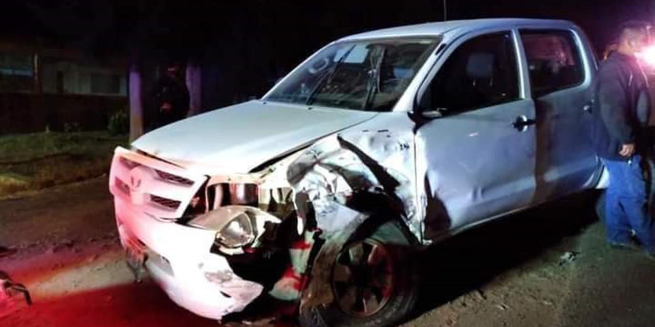 Choque en carretera Oaxaca-Puerto Ángel deja sólo daños materiales   El Imparcial de Oaxaca