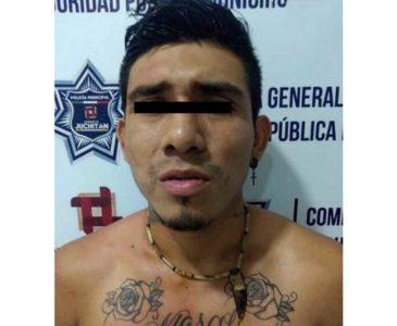 Policía detiene a presunto asaltante en Juchitán