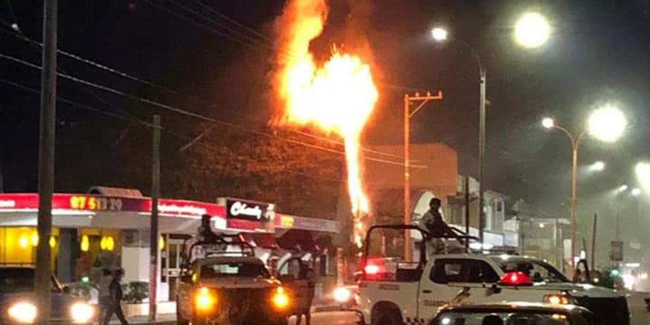 Arde palapa en Tuxtepec | El Imparcial de Oaxaca