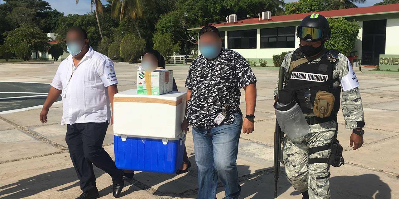 Entregan 715 dosis de vacunas Covid-19 en Pinotepa Nacional | El Imparcial de Oaxaca
